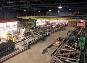 Сборочный цех металлоконструкций