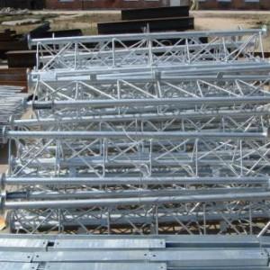 Склад металлоконструкций.