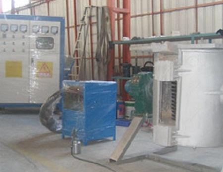 """Индукционная плавильная печь """"IPK-ST-0.1-160."""