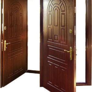Металлические входные двери.