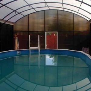 Металлоконструкция для бассейна