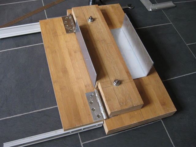 Ещё одна конструкция самодельного ручного листогиба.