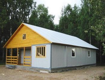 Дачный дом из модулей.