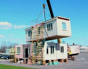 Строительство зданий из контейнеров.