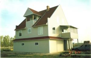 Дом из металлоконструкций