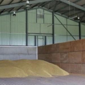 Зернохранилище по технологии каркасного строительства