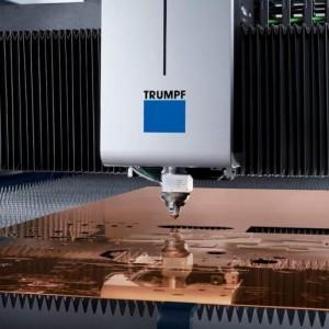 Технологичное оборудование для лазерной резки.