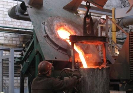 """Индукционная плавильная печь """"ITPE-10-08-TG1""""."""