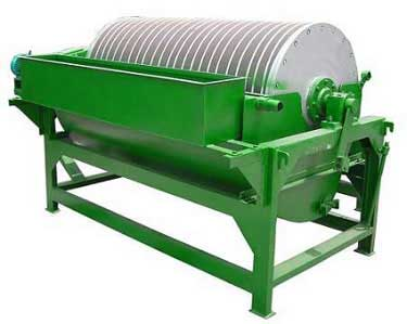 Магнитный барабанный сепаратор на постоянных магнитах «CTBY1224».