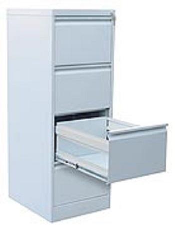 Металлический архивный шкаф-картотека.