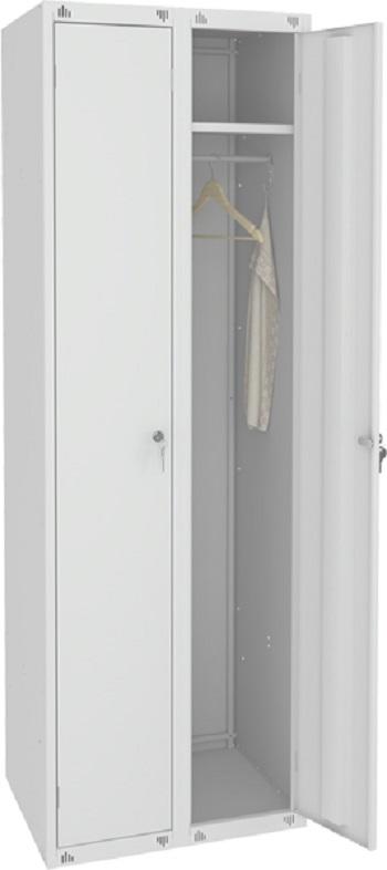 Шкаф для одежды двухсекционный.