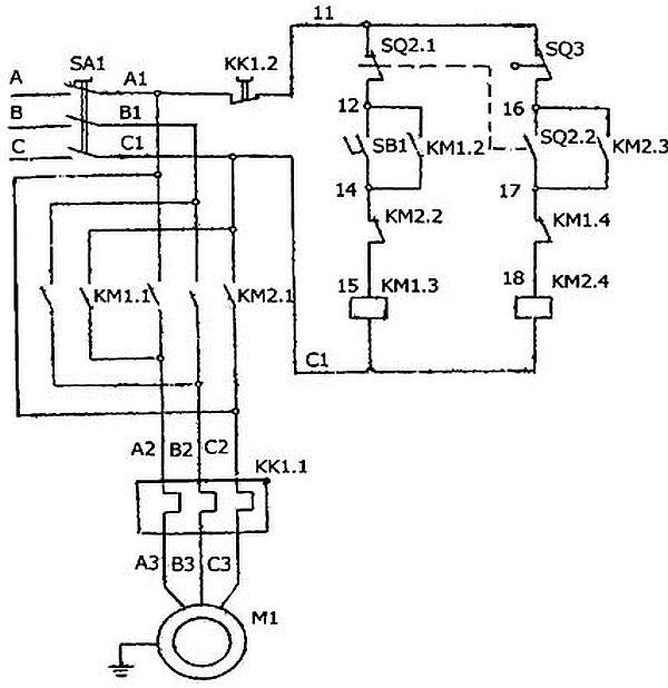 e`lektricheskaia skhema stanka SGA-1